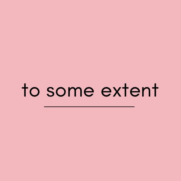 英語の「to some extent」の意味と使い方をチェック