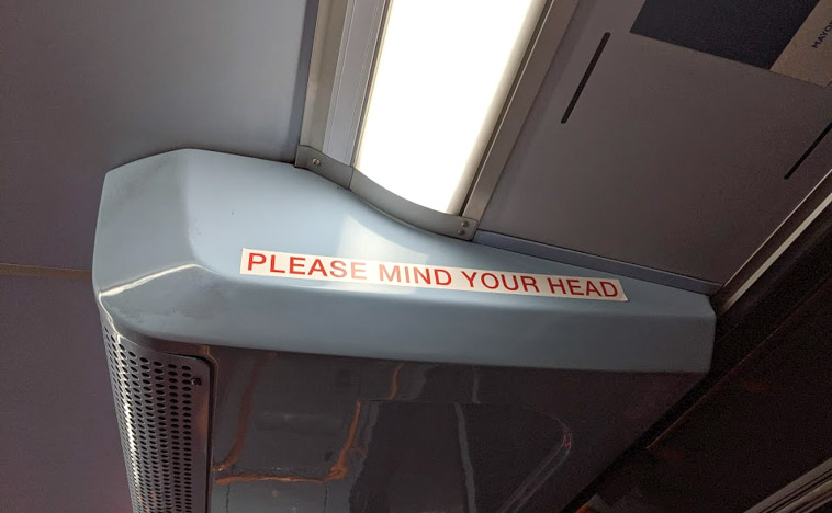 MINDの使い方② PLEASE MIND YOUR HEAD