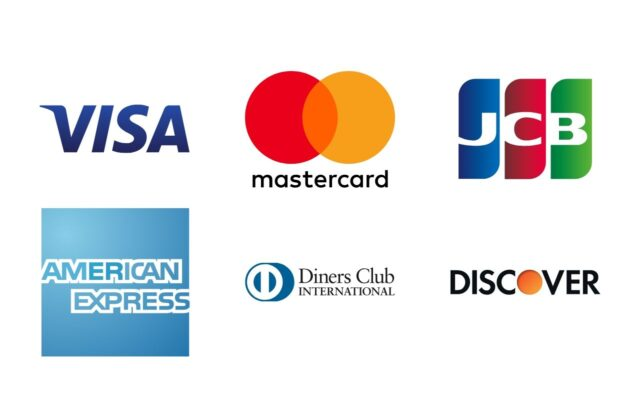 スパトレの利用可能なクレジットカード一覧