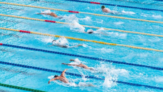 水泳・競泳の種目や競技名の英語は?